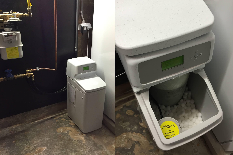 hoe waterontharder installeren