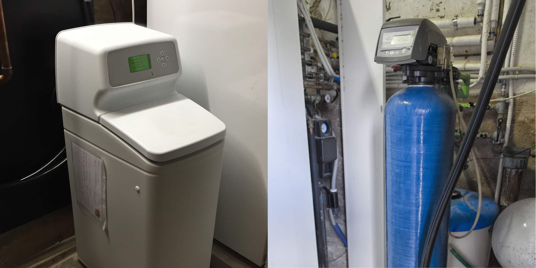 installatie waterontharder