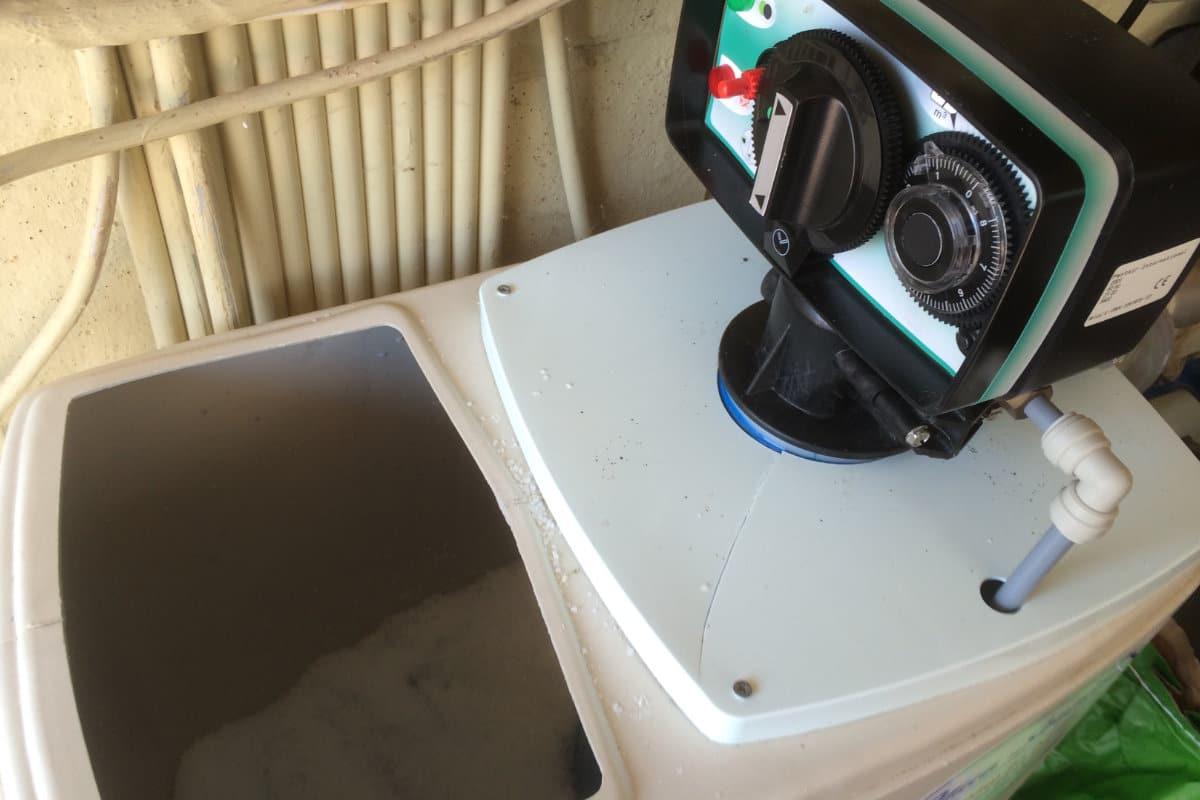 regeneratie waterontharder
