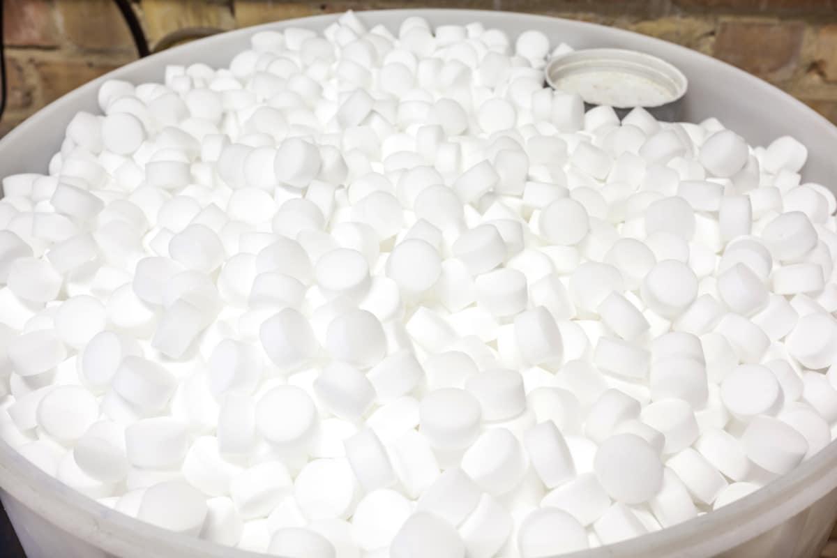 voorbeeld zout waterverzachter